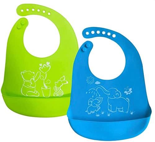 Waterproof Silicone Baby Bibs