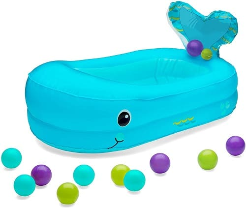 Infantino Whale Inflatable Baby Bath