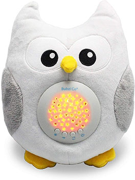 Bubzi Co Baby Soother Sweet Snuggly Owl White Noise Sound Machine