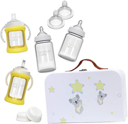 Cherub Baby Glass Bottle Starter Kit