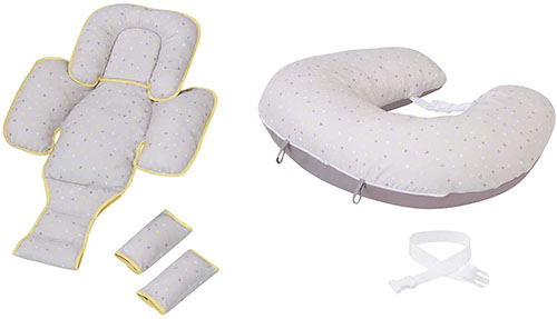 ClevaMama ClevaCushion Pillow and Baby Nest