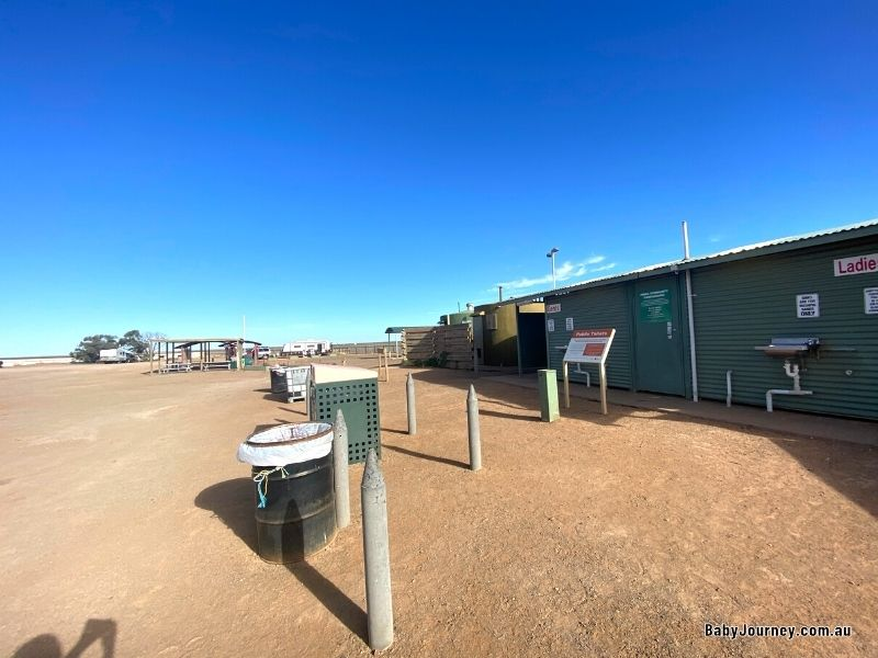 Broken Hill To Coober Pedy Pimba rest stop