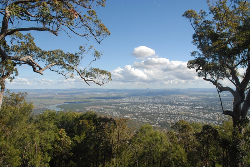 Great view of Rockhampton from Mount Archer
